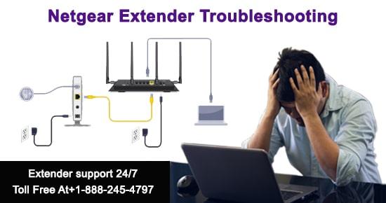 Netgear extender troubleshooting tips